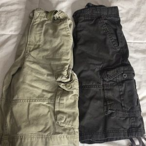 Pair of boy cargos